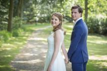 bruidskapsel en bruids make-up 1