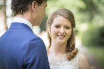 bruidskapsel en bruids make-up 3