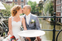 bruidskapsel&bruidsmake-up