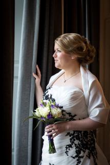 bruidskaspel en bruidsmake-up e-linehairfashion
