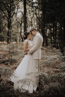 e-linehairfashion bruidskapsel en bruidsmake-up